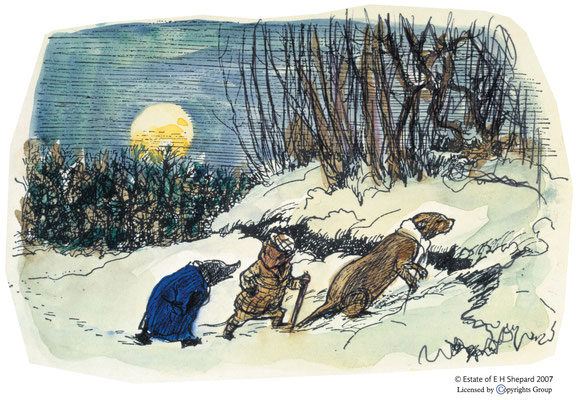 E.H. Shepard: The wind in the willows