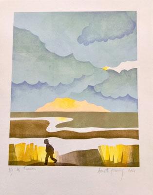 Tienhoven, print by Annette Fienieg 2021