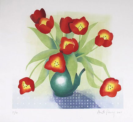 Tulpen, sjabloondruk 2006