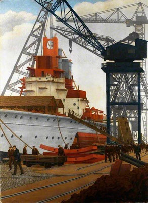 Charles Ginner: building a battleship