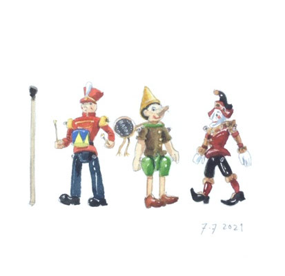 Annette Fienieg: Three Hantel miniatures, 7-7-2021