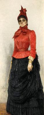 Ilja Repin: Baroness Varvara Ikskul von Hildenbrandt