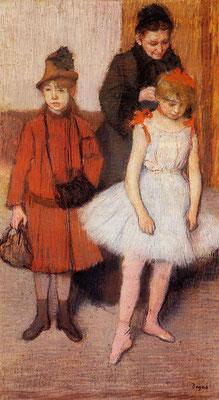 Edgar Degas: the Mante family