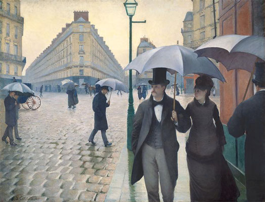 Gustave Caillebotte: Paris, rainy day