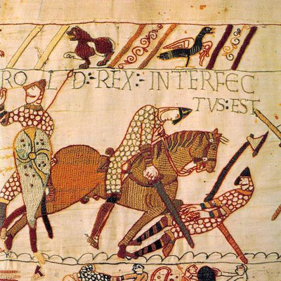Bayeux Tapestry, detail