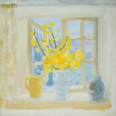 Winifred Nicholson: Easter Monday
