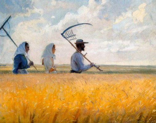 Anna Ancher: Harvest time