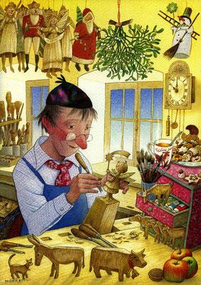 Tilman Michalski: illustratie, houtsnijder
