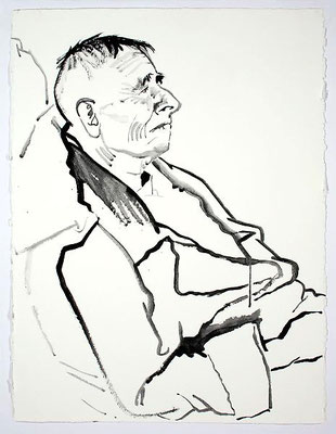 Don Bachardy: portret van Christopher Isherwood