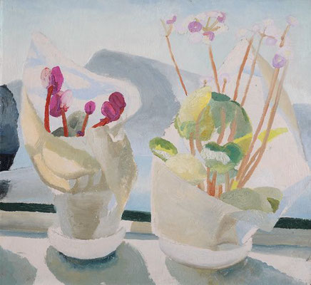 Winifred Nicholson: Cyclamen and Primula