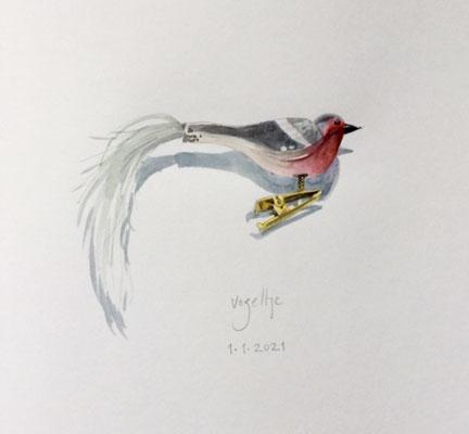 Annette Fienieg: Vogeltje, 1-1-2021