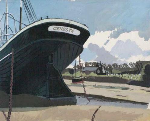 Roland Collins: Genesta, Porthill