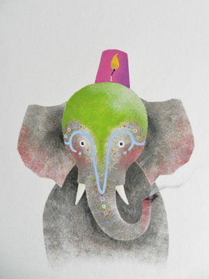 Annette Fienieg, uit:  Bij ons in het circus