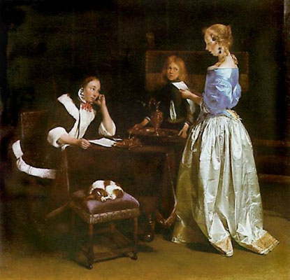 Gerard ter Borch: The letter