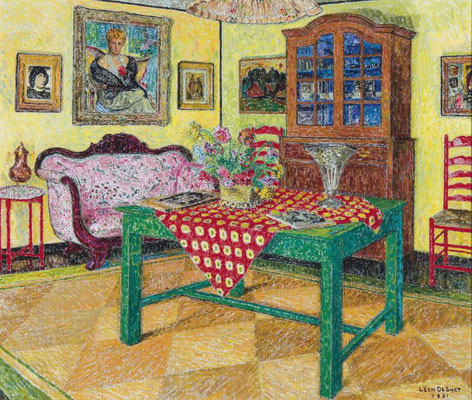 Leon de Smet: groene tafel