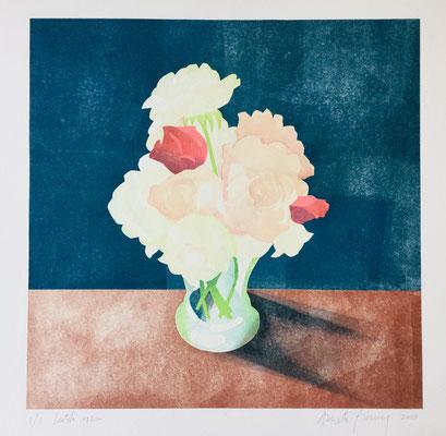 Annette Fienieg: Laatste rozen, prijsprent