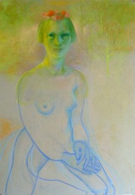 Maartje Strik: The prim fields (pastels)