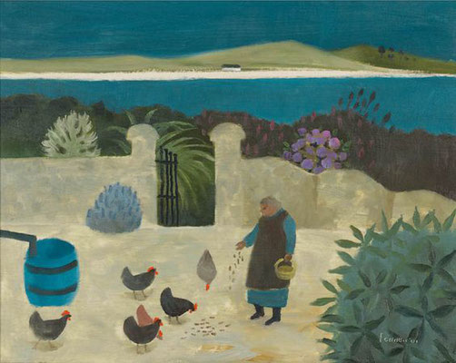 Mary Fedden: The garden, West Cork
