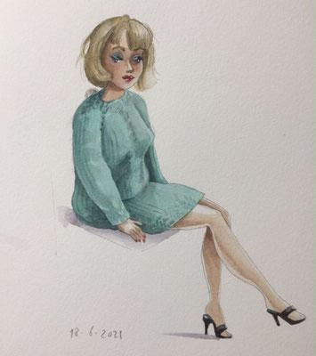 Annette Fienieg: Vintage Barbie, 18-6-2021