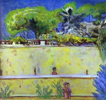 Pierre Bonnard: De terrassen