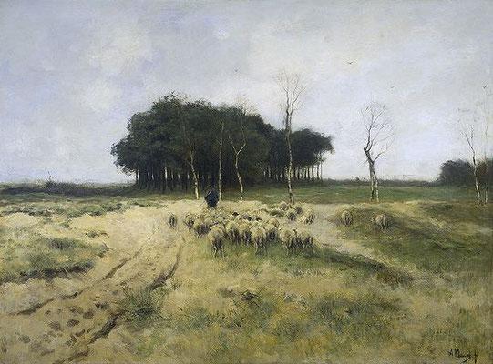 Anton Mauve: De hei bij Laren