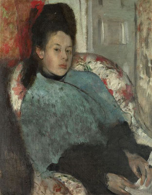 Edgar Degas: Elena Carafa