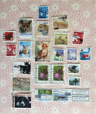 postzegels: dieren