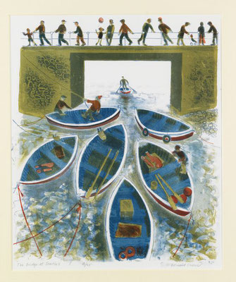 Bernard Cheese: The bridge at Staithes