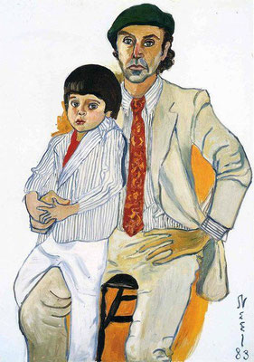 Alice Neel: Hartley and Andrew