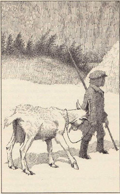 Maurice Sendak:  illustration for a story by I.B.Singer
