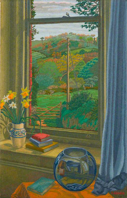 Charles Ginner: spring day at Boscastle