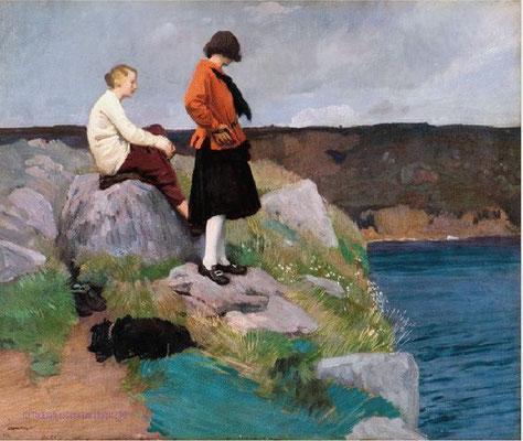 Laura Knight: The Cornish coast