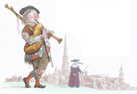 Tilman Michalski; uit: Warum klappert die Mühle am rauschenden Bach?