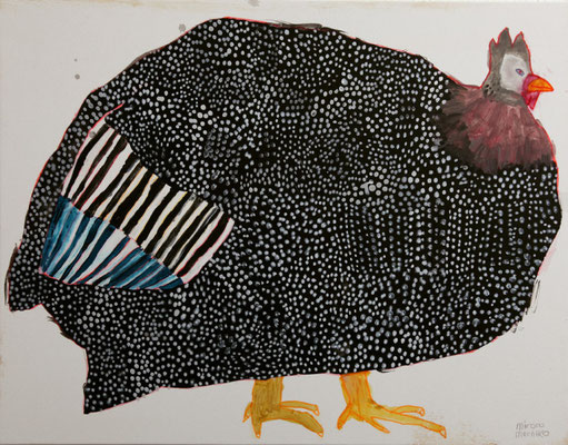 Miroco Machiko: Guinea fowl