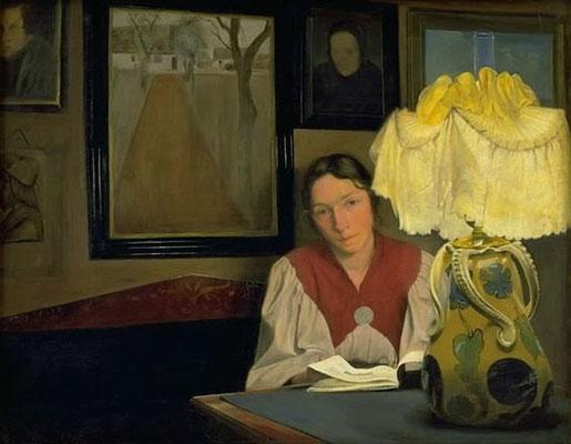 L.A.Ring: De vrouw van de kunstenaar
