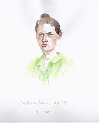 Annette Fienieg: Amerikaanse boerin, jaren '70; 13-01-2021
