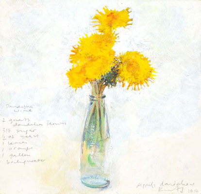 Kurt jackson; April's dandelions