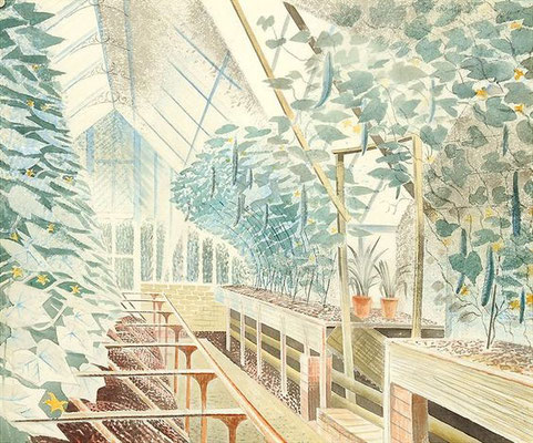 Eric Ravilious: The cucumber house