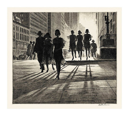 Martin Lewis: Shadow dance