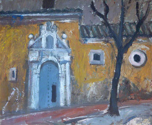 Anne Redpath: Spanish doorway