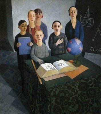 Felice Casorati: The pupils