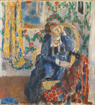 Rik Wouters: Woman in chair