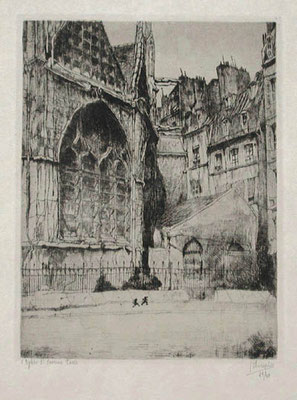 Jules de Bruycker: St Severin, Parijs
