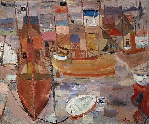 William George Gillies: Harbour