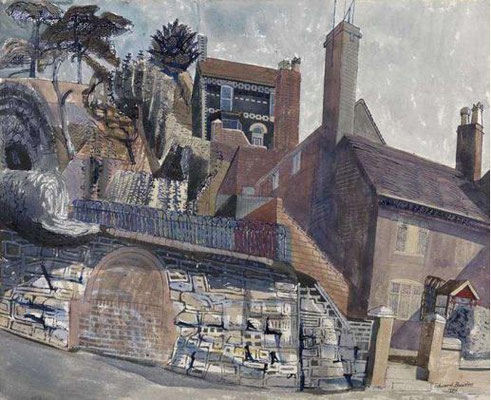Edward Bawden: House at Iron Bridge