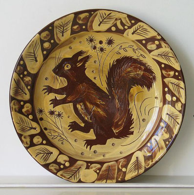 Mark Hearld: Squirl plate
