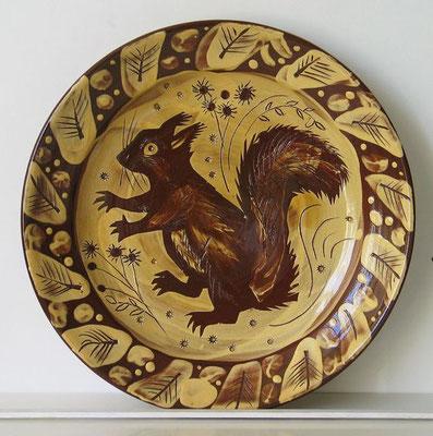 Mark Hearld: Squirl plate
