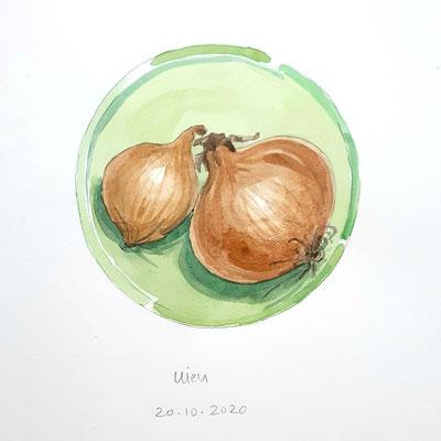 Annette Fienieg: Onions 20-10-2020