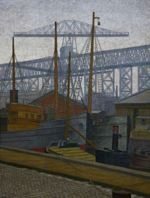 Charles Ginner: Clarendon Dock, Belfast