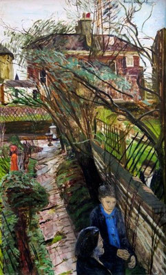 Carel Weight: The broken trellis
